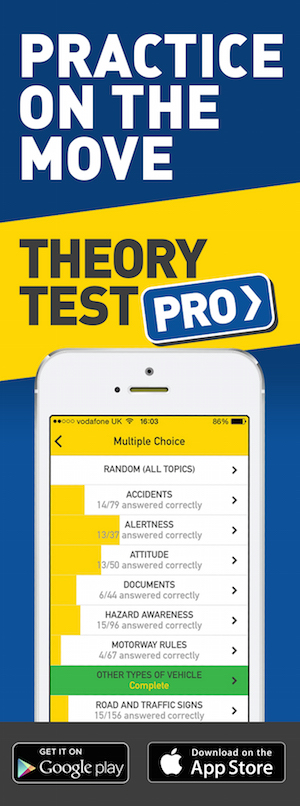 Theory Test Pro in partnership with May School of Motoring